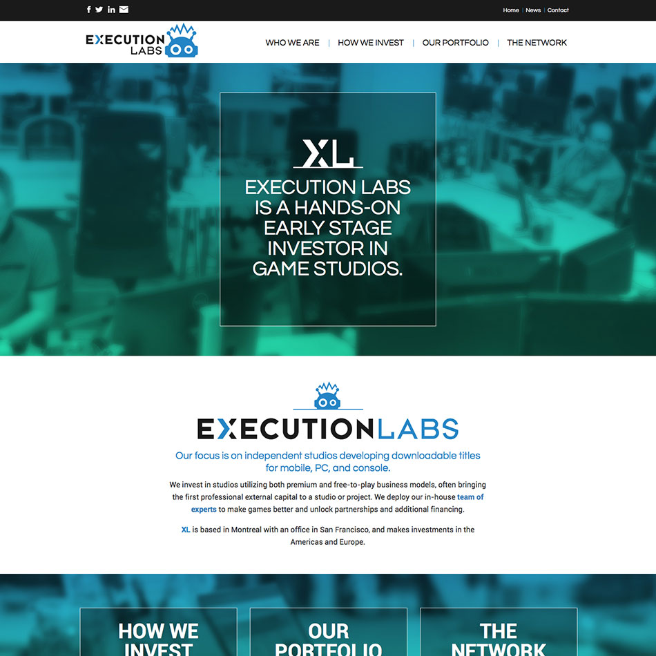 Execution Labs - Home